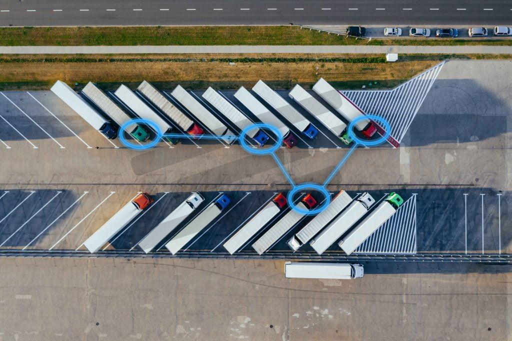 control y gestión de flotas por gps